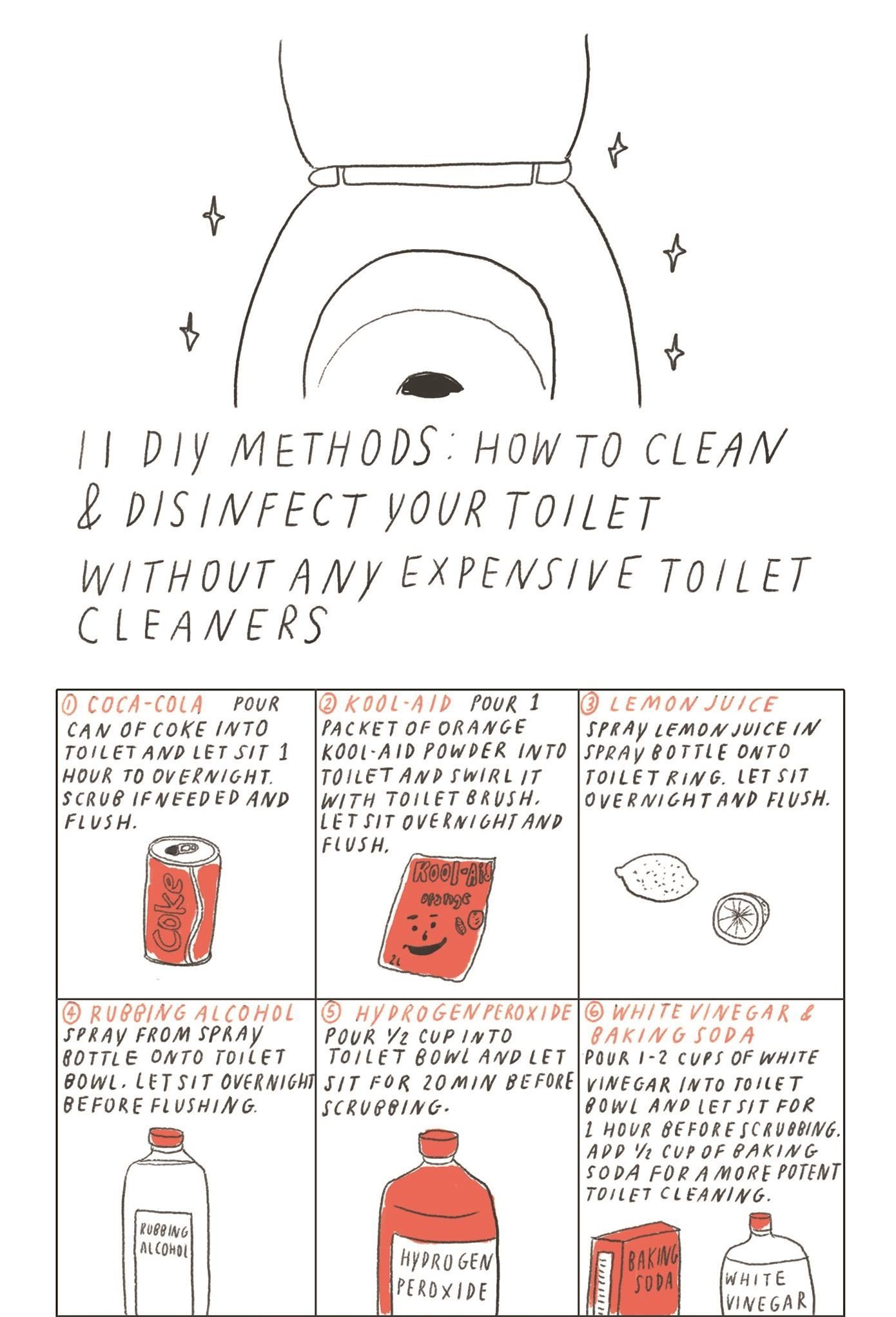 11 Green & Inexpensive DIY Solutions for Cleaning Your Toilet