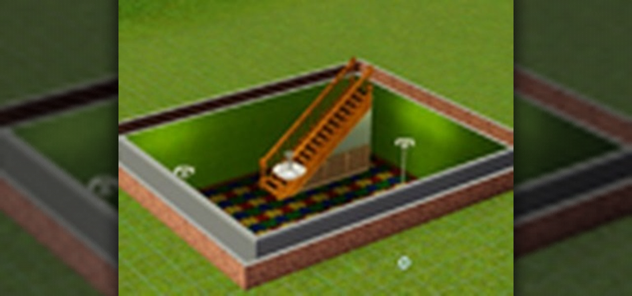 How to create a basement for your house in sims 3 pc games for How to build a house with a basement
