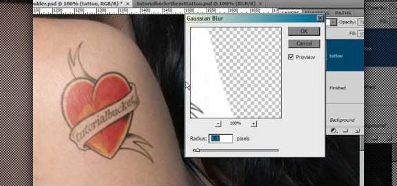 How To Add Fake Tattoos In Photoshop Photoshop Wonderhowto