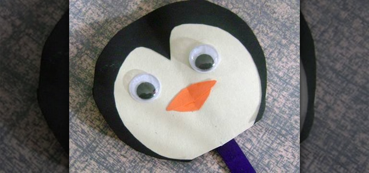 how to make a simple paper penguin with your kids  u00ab kids