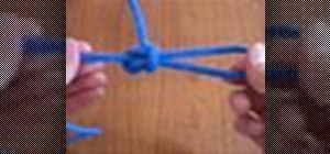 Tie a perfection loop knot