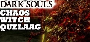 Beat the Chaos Witch Quelaag boss in Dark Souls