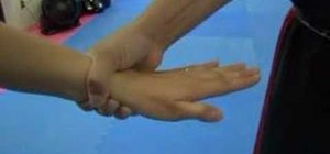 Use the wrist grab release technique for self-defense