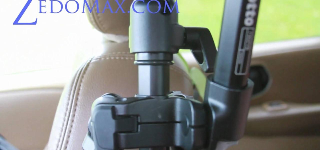 Dslr Camera Car Mount Into a Diy Dslr Car Mount