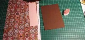 Make an accordian envelope mini album