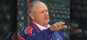 Practice the long toss in pitching with Nolan Ryan