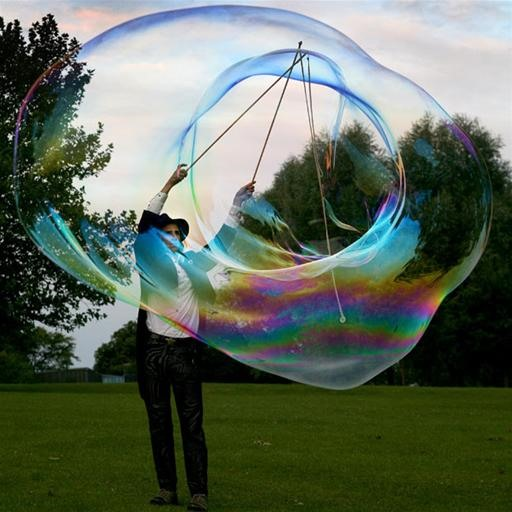 Gigantic Bubbles