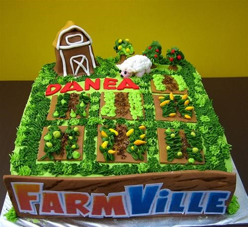 Farmville Craze Extends to Cake Art