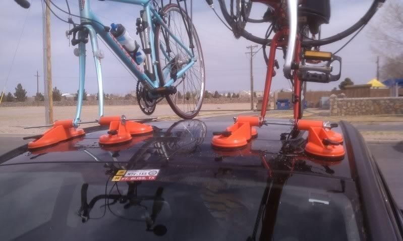 How To Make A Cheap And Reliable Suction Based Bike Rack