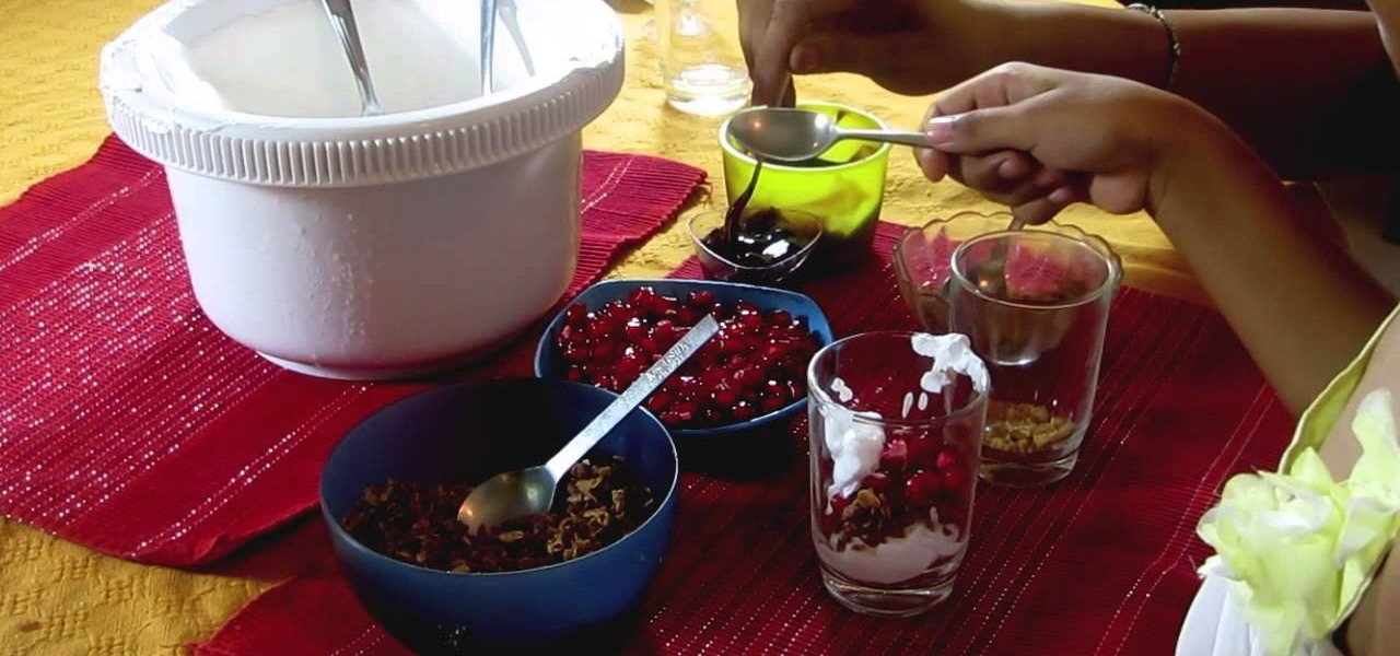 Make Healthy Fruit Parfait Desserts with Kids