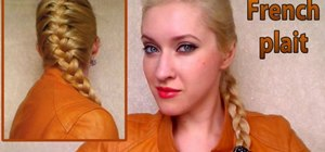Create a Lara Croft inspired French braid look