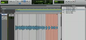 Manipulate timing with warp markers in Pro Tools 8