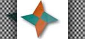 Origami a shuriken Japanese style