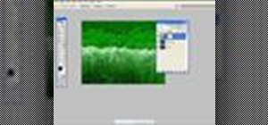 Apply an adjustment layer in Photoshop CS2