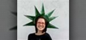 Make an awesome DIY Statue of Liberty crown for the 4th of July