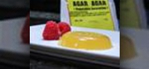 Use agar (aka agar-agar) for dessert recipes in lieu of gelatin