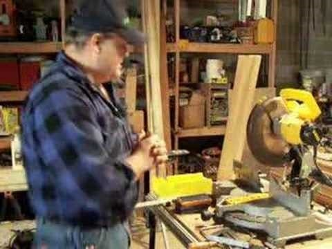 Make crown moulding for your home - Part 3 of 4