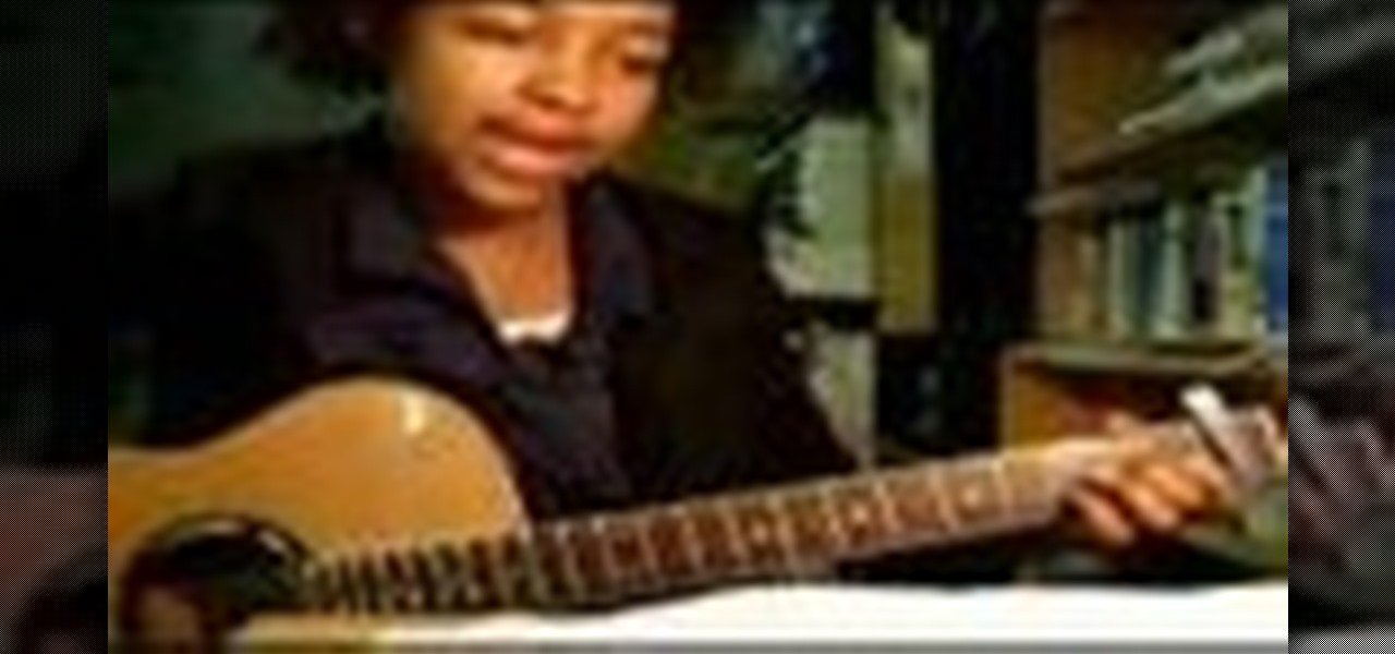 How To Play For My Lover By Tracy Chapman On The Guitar Acoustic
