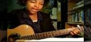 "Play ""For My Lover"" by Tracy Chapman on the guitar"