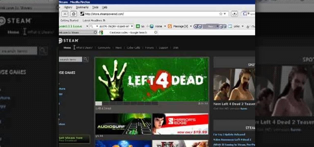 How to Make a Left 4 Dead dedicated server « PC Games