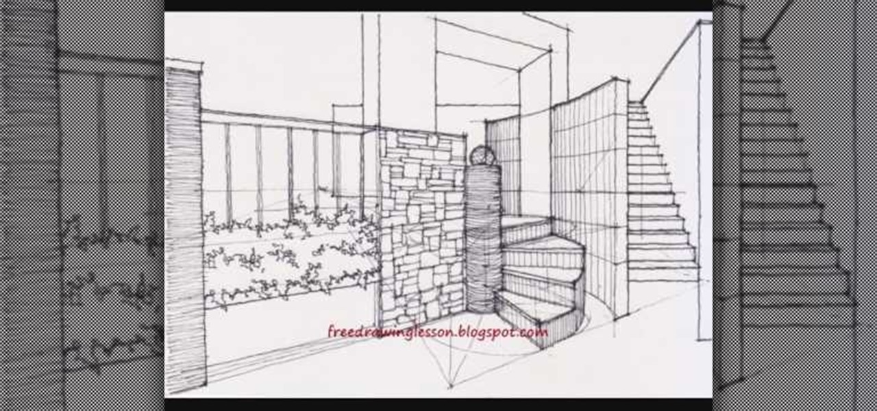 3d Staircase Drawing How to Draw a Spiral Staircase