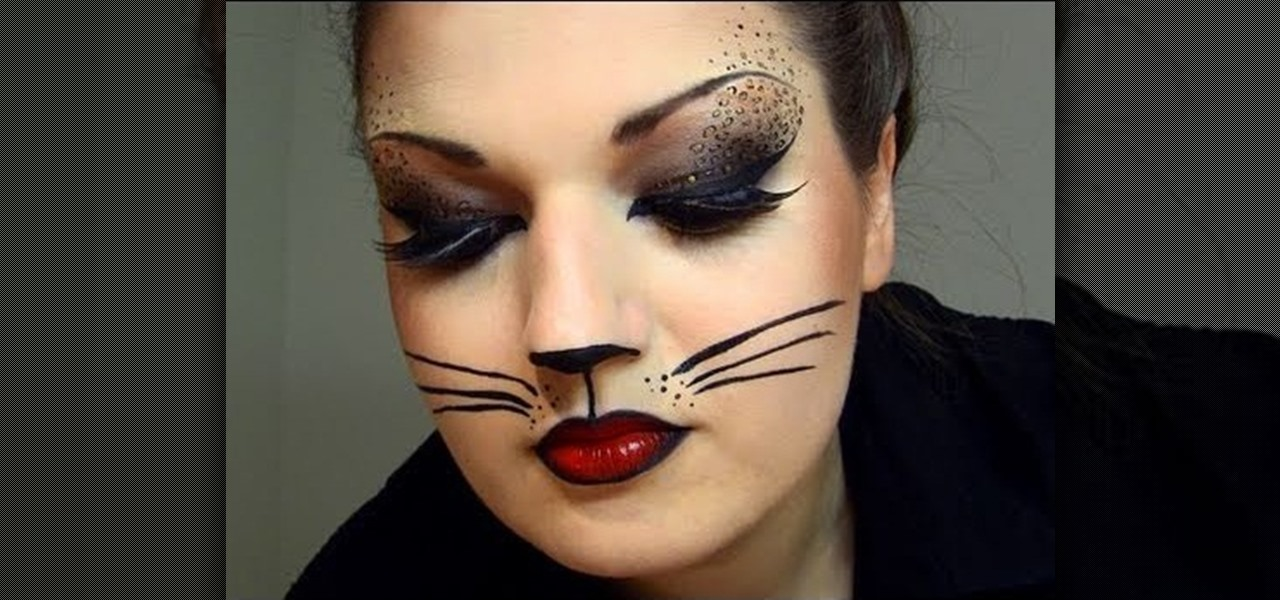 Sexy Cat Makeup For Halloween How to Create a Sexy C...