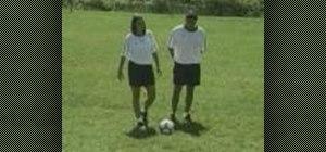 Play 1 versus 1 soccer drills