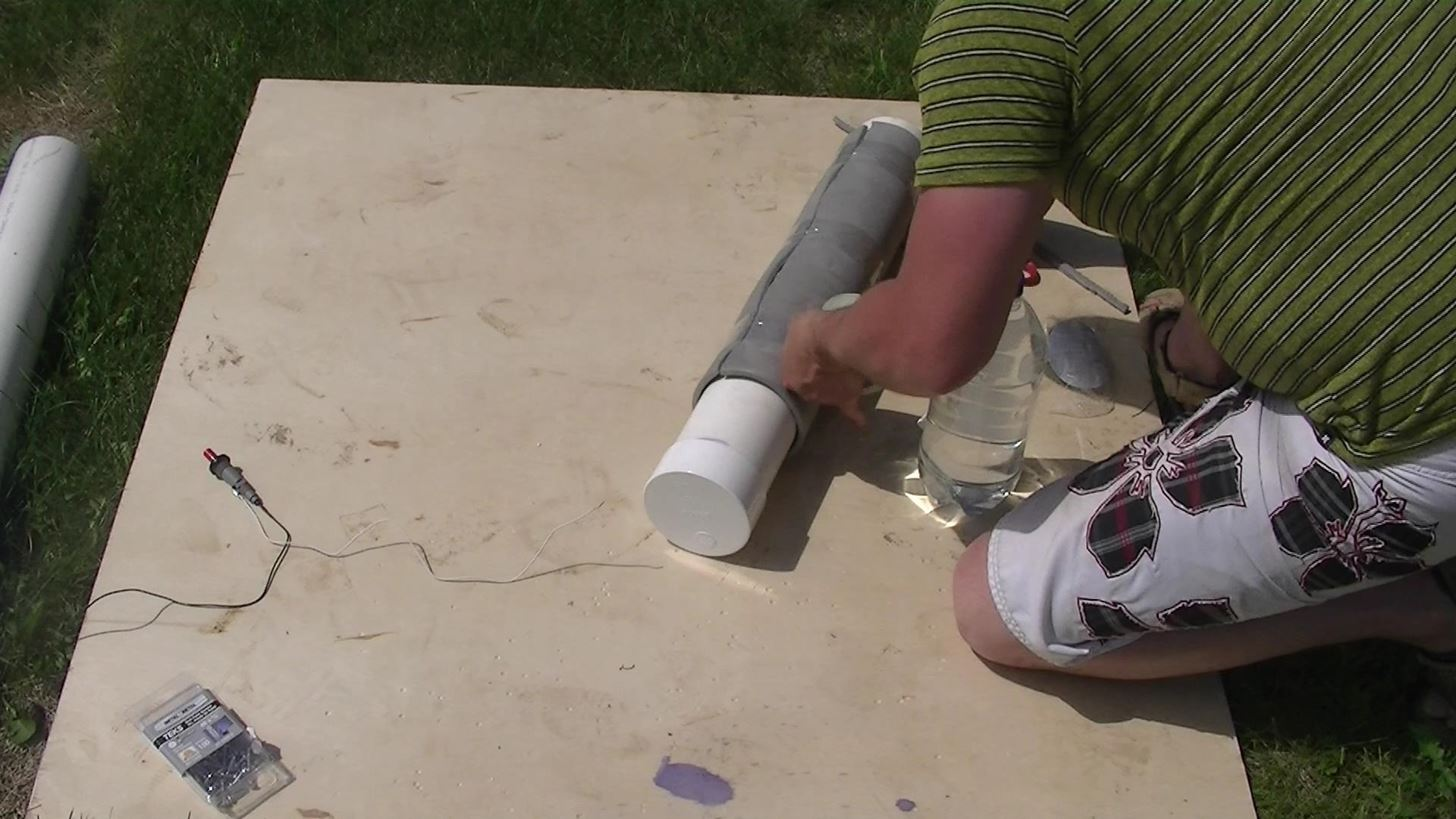 How to Make a Homemade PVC Rocket