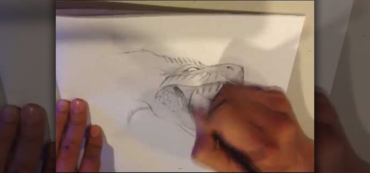 Draw a Dragon Roaring