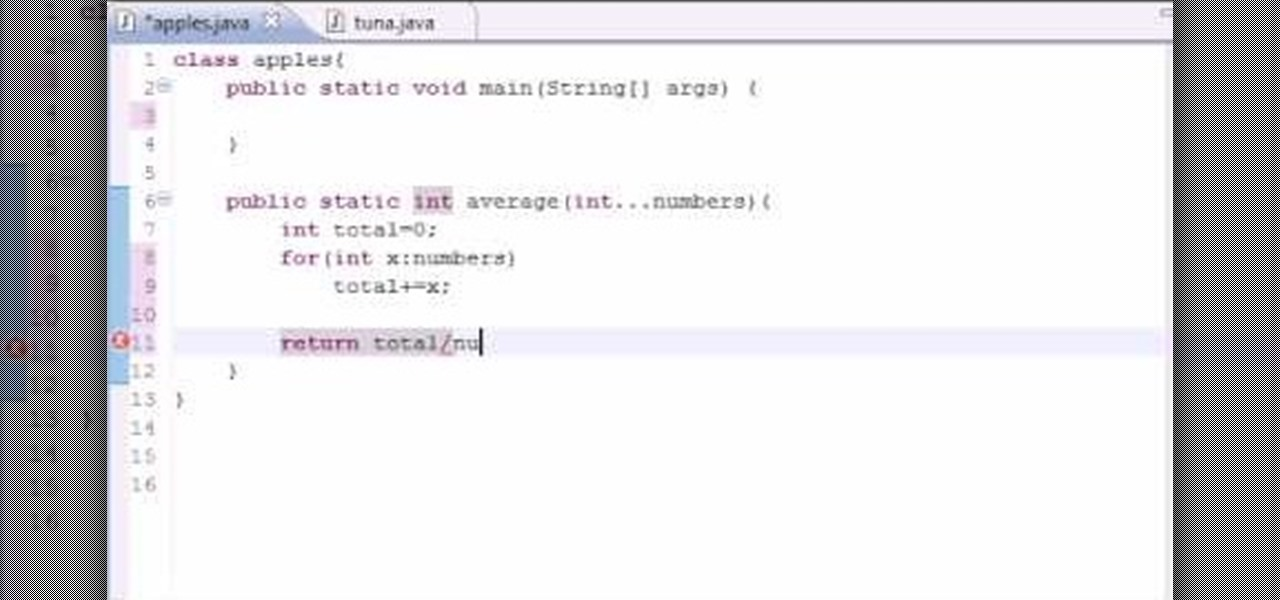 How To Make A Variable Length Argument List For Java