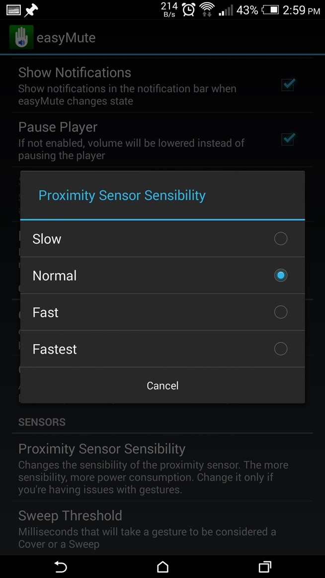 How to Mute or Pause Music on Your HTC One by Just Waving Your Hand