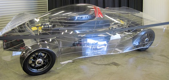 Teens Build World's Most Fuel-Efficient Car