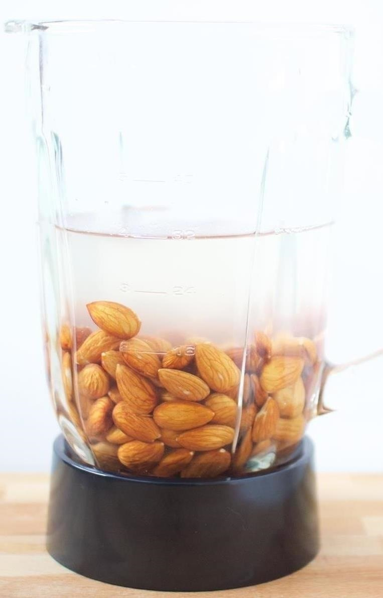 This French Press Hack Makes DIY Almond Milk a Snap