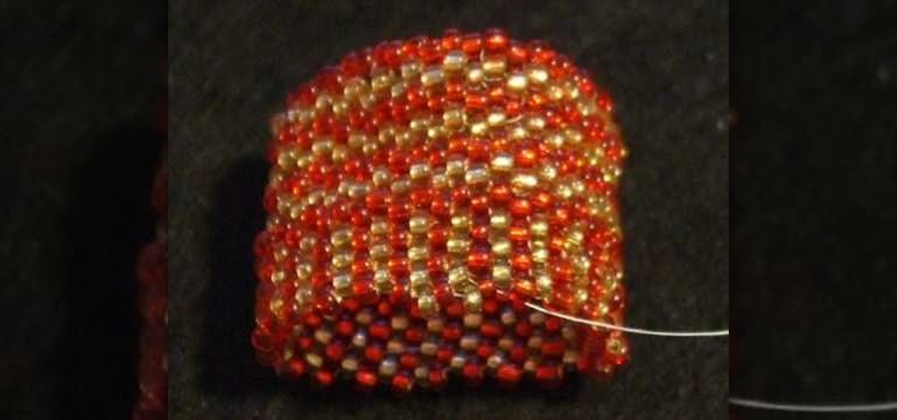 How to Make an even count peyote beaded amulet bag or purse ...