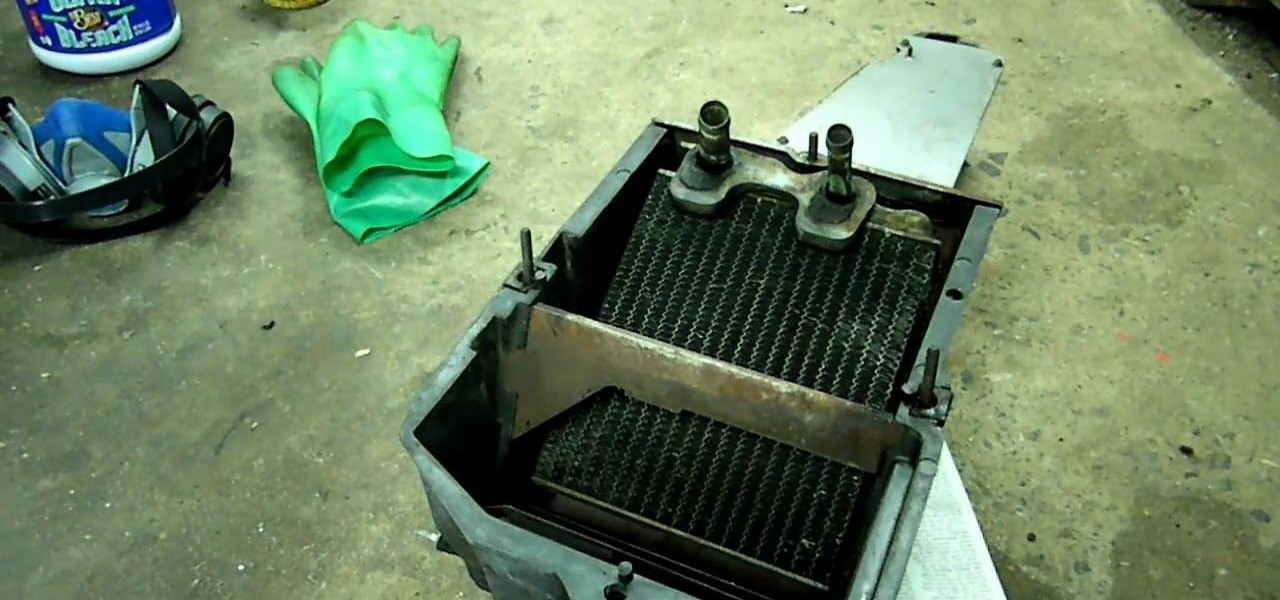 How To Remove And Clean The Heater In A Chevrolet Truck