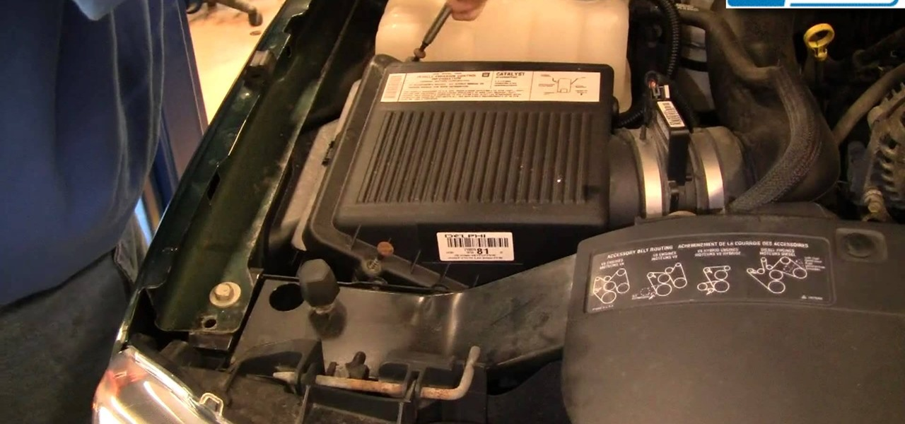 How To Replace The Engine Air Filter On A 99 06 Chevy