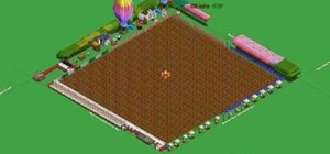 Buy trees continuously in Farmville on Facebook