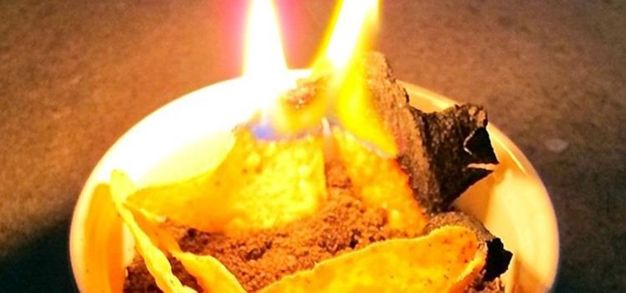 Turn Corn or Potato Chips into a MacGyver-Style Emergency Candle