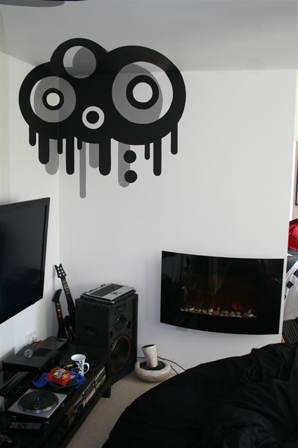 Trippy DIY Wall Art Project by Loki