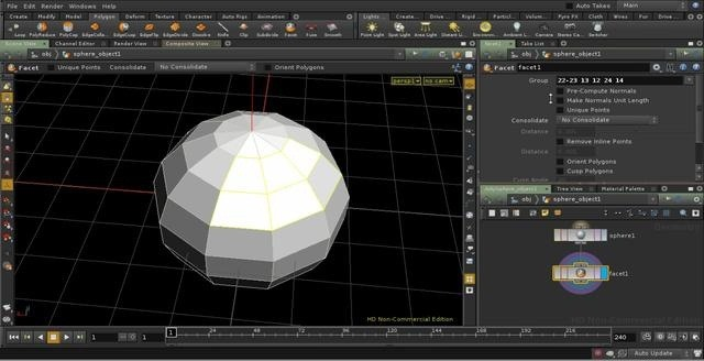 Create and use grouping points in Houdini 10