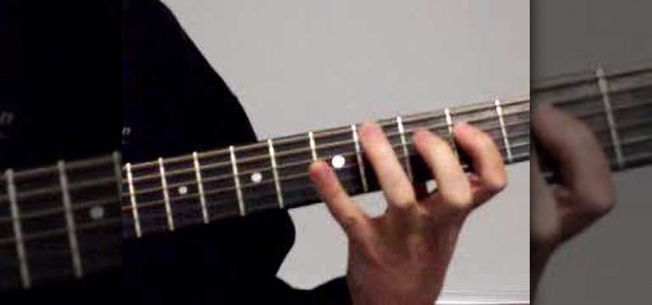 How To Play The A Major Scale In Second Position On Guitar