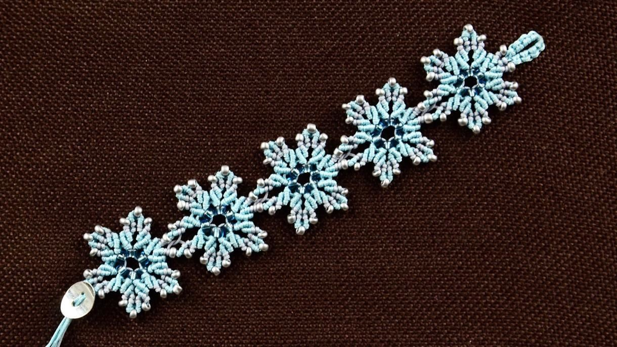 Frozen Flower Bracelet Tutorial
