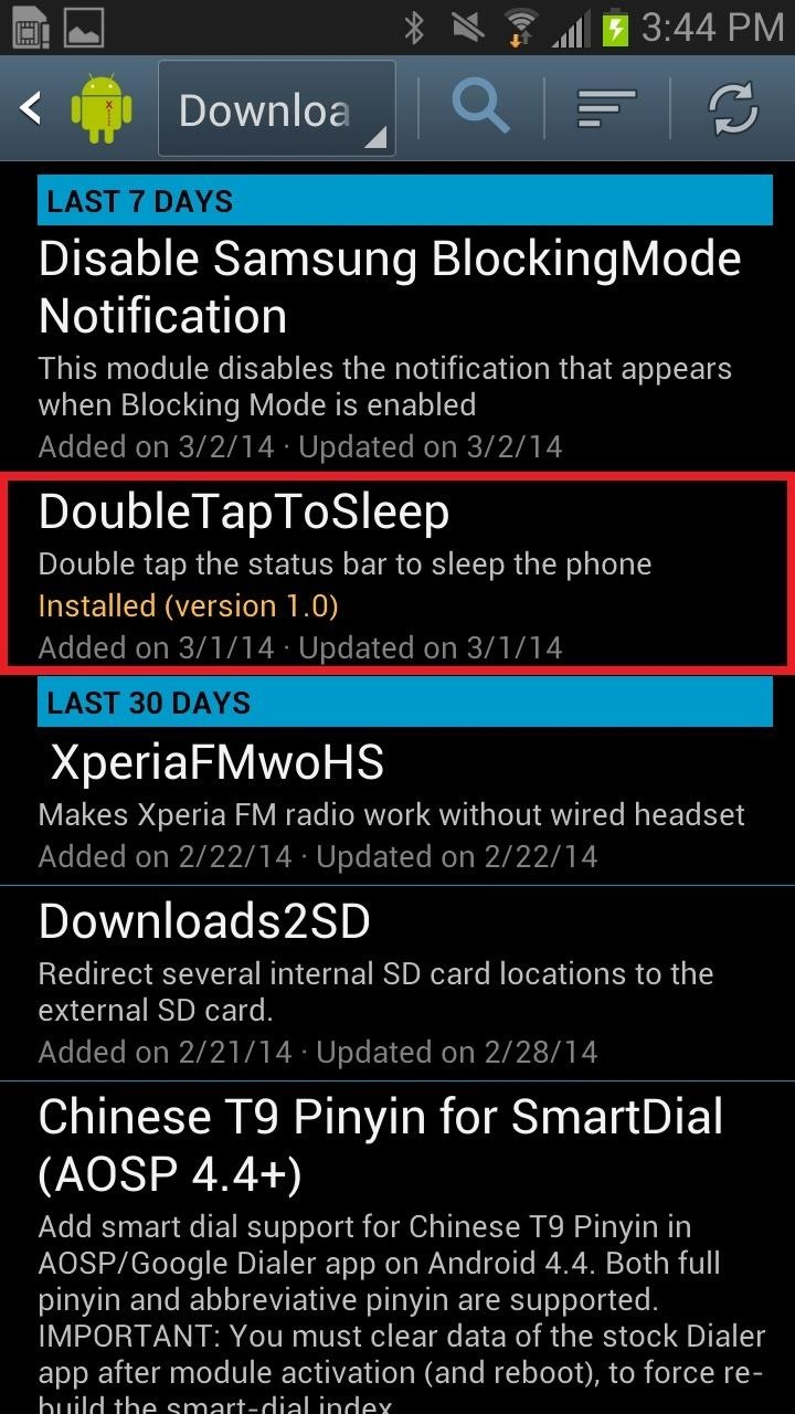 How to Turn the Screen Off Faster & Alleviate Power Button Stress on Your Samsung Galaxy Note 2