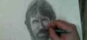 Draw Chuck Norris Step by Step