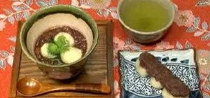 Make Zenzai and Anko (Japanese Red Bean Sweets)