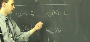 Work with logarithms in intermediate algebra