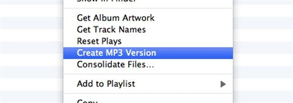 How to Convert Protected M4P Files to MP3 Songs with iMovie and iTunes
