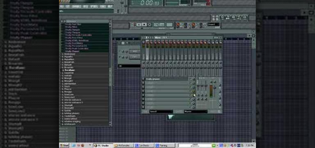 How to Add effects to instruments and vocals in FL Studio