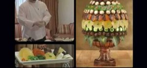 Make edible fruit bouquets and arrangements