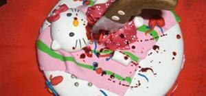 Hello Kitty Death Cake